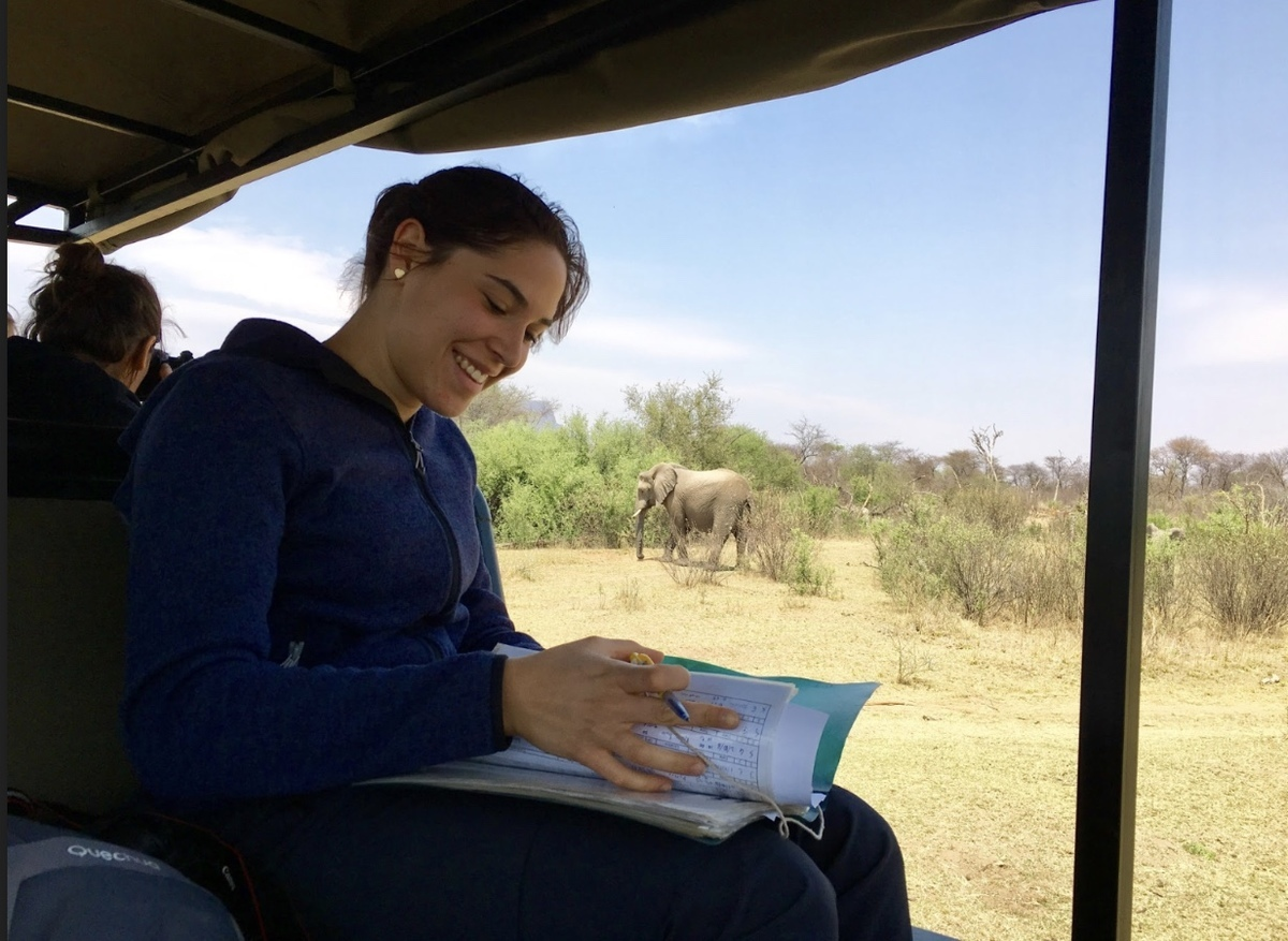 Volunteering in Africa at a National Park.